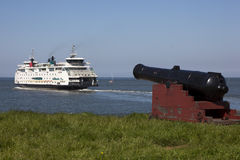 荷兰语轮渡 库存图片