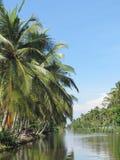 荷兰语运河Negombo 免版税库存照片