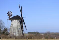 荷兰语风车 免版税库存照片