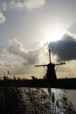 荷兰语风车 免版税库存图片