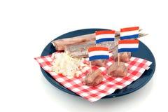 荷兰语鲱鱼 免版税库存图片