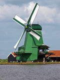 荷兰语schans风车zaanse 免版税库存照片