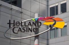 荷兰赌博娱乐场 库存照片