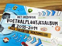 荷兰足球图片收藏家册页2018-2019 免版税库存照片
