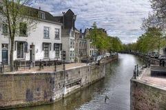 荷兰运河 免版税库存照片