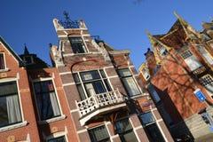 荷兰风景阿尔克马尔市 图库摄影