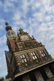 荷兰风景阿尔克马尔市 库存照片