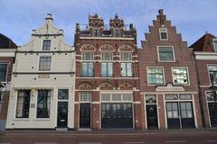 荷兰风景阿尔克马尔市 免版税库存图片