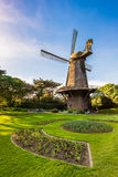 荷兰风车-金门公园,旧金山 库存照片