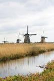 荷兰风车 免版税库存照片