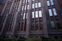 荷兰,乌得勒支- 2015年10月25日:现代城市建筑学 乌得勒支-荷兰 免版税图库摄影