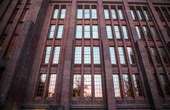 荷兰,乌得勒支- 2015年10月25日:现代城市建筑学 乌得勒支-荷兰 免版税库存图片