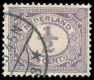 荷兰,系列数字 免版税库存照片