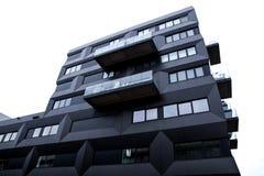 荷兰,阿姆斯特丹- 2015年10月25日:现代城市建筑学 阿姆斯特丹-荷兰 库存图片