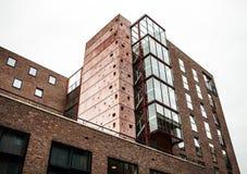 荷兰,阿姆斯特丹- 2015年10月25日:现代城市建筑学 阿姆斯特丹-荷兰 免版税库存照片