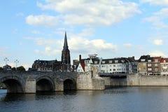荷兰,马斯特里赫特,圣马丁教会 免版税图库摄影
