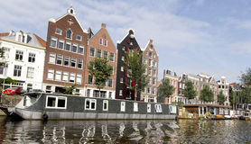 荷兰(荷兰)家和Windows 免版税库存图片