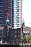 荷兰Amerika Lijn在鹿特丹,荷兰 库存图片