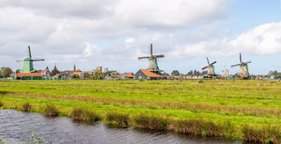 荷兰schans zaanse 免版税图库摄影