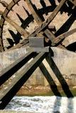 荷兰watermill 图库摄影