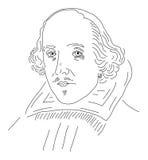 莎士比亚・威廉 库存例证