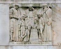 莎士比亚图书馆,华盛顿 库存图片