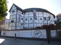 莎士比亚地球剧院在伦敦 库存照片