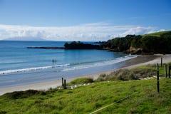 莎士比亚海湾,新西兰 库存图片