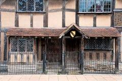 莎士比亚的出生地 库存图片