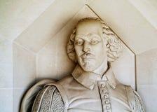 莎士比亚纪念碑 免版税库存照片