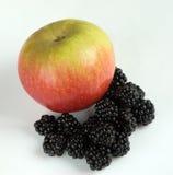 黑莓和苹果计算机 免版税库存图片