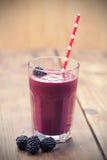 黑莓圆滑的人 免版税库存图片