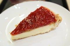 莓果乳酪蛋糕 免版税库存照片
