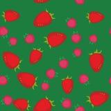 莓果动画片无缝的纹理641 库存例证