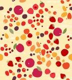 莓果无缝的样式 库存例证