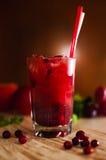 莓果柠檬水 库存图片