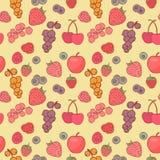 莓果背景传染媒介图画 免版税库存图片