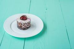 莓果蛋糕 库存照片
