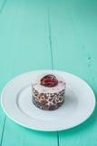 莓果蛋糕 免版税库存照片