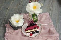 莓果饼 库存图片