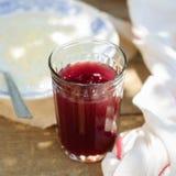 莓果傻瓜用乳状小米 库存图片