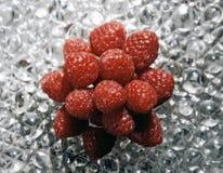 莓欢欣食物艺术 免版税库存照片