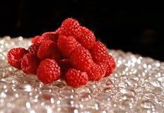 莓欢欣食物艺术 免版税库存图片