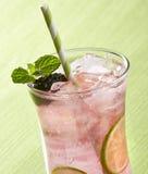 黑莓清凉饮料 免版税图库摄影