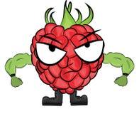 莓漫画人物 免版税图库摄影