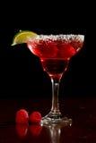 莓玛格丽塔酒 免版税库存图片