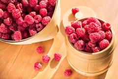 莓甜点 免版税库存照片
