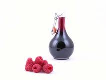 莓糖浆 库存照片