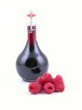 莓糖浆 免版税库存照片