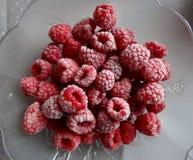 莓结冰的融解 库存照片
